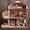 Кукольный домик,  дом для кукол +МЕБЕЛЬ В ПОДАРОК Дроп Опт #1638655
