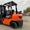 Автопогрузчик/автонавантажувач Toyota с мачтой триплекс  и боковым смещением #1696551