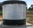 Емкости,  резервуары в  каркасе из стали от 18 м3,   200 м3 и более