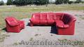 Продам шкіряний диван б/у в Луцьку привезений з Європи.