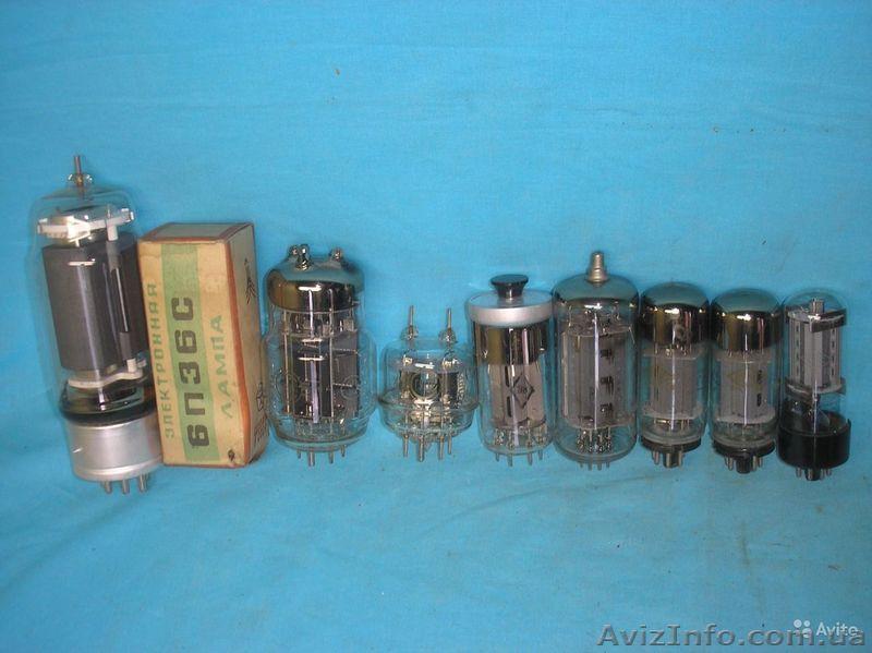 Радиолампы на лом, пустые, битые радиолампы с содержанием драгметаллов, Объявление #1500121
